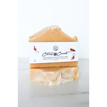 Citrus & Carrot - Handcrafted Soap Bar