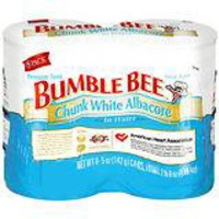 Bumble Bee Chunk White Albacore Tuna in Water 8- 5 oz Cans