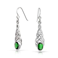 Bling Jewelry Oh Oh Oval Earrings