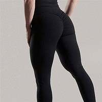 Scrunch Back Push Up leggings