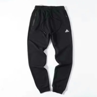 Adidas New fashion letter print couple sports leisure Black