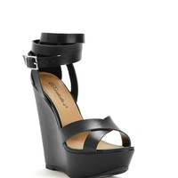 The Brooklyn Strappy Wedge