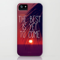 the best is yet to come iPhone & iPod Case by Sylvia Cook Photography