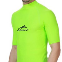 Surfing Surfer Slacker T-shirt New Hot camiseta surf Men's Sun Protective Short Sleeve wet suit for diving swimming and surfing rash guard mans swim suit shirt KO_12_1