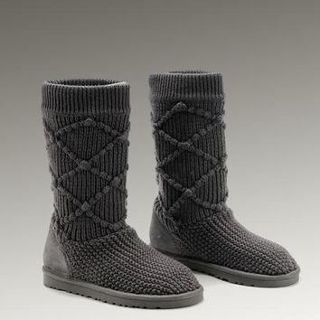 UGG Classic Argly Knit 5879 Boots Grey