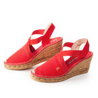 Fornells Wedges - Red