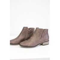 Winifred Booties - Chocolate