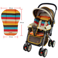 Baby Stroller Seat Cushion Stroller Pad Mattresses Babies Cushion Carriage Infant  Pram Accessories In Common Use Pushchair Pad