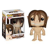 Attack on Titan Eren Jaeger Titan Form Pop! Vinyl Figure - Funko - Attack on Titan - Pop! Vinyl Figures at Entertainment Earth