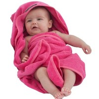 Mum 2 Mum Hooded Towel - Hot Pink