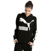 PUMA Archive Logo T7 Women Red Hoody