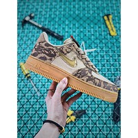 Nike Air Force 1 Jewel '07 Low Country Camo Af1 Fashion Shoes
