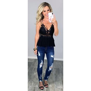 All Up To You Lace Top