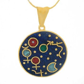 18K Gold Cosmic Moment Charm