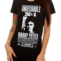 Harry Potter Undesirable No. 1 Girls T-Shirt Plus Size 3XL - 330244