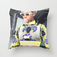 Bey  Throw Pillow by POSH OUTSIDERS
