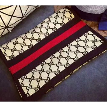 Gucci women exquisite scarf W-YH-FTMPFh Rice white