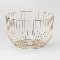 Round Wire Basket Large - Gold - Project 62™