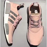 Adidas NMD individuality Sequins Fashion Trending Leisure Running Sports Shoes
