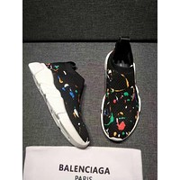 Balenciaga Speed Trainers Stretch Knit Sneakers Style #14