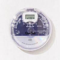 Clear Tech Personal CD Player   Urban Outfitters