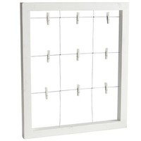 White Window Wall Frame