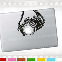 "Camera macbook decal, laptop sticker for 13"" notebook, Apple MacBook pro, air. also walls and glass"