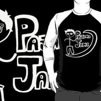 Pajama Jams Logo #1 - Eugene Style, White Version by alecandstuff