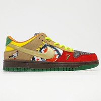 Nike Dunk SB Low What the Dunk Sneakers Shoes