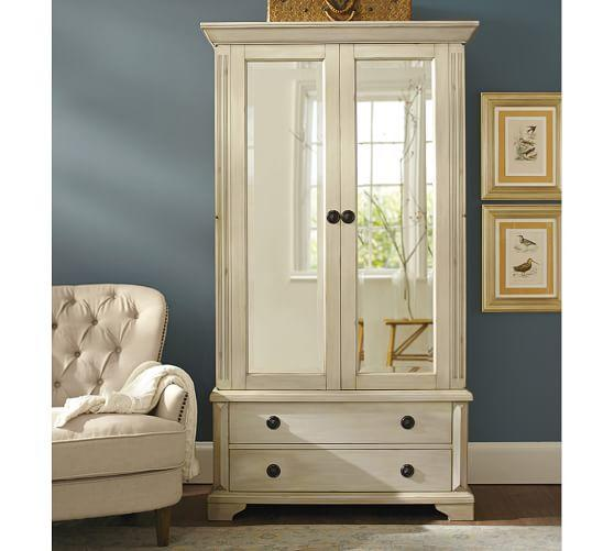 pottery barn jewelry armoire 28 images small computer