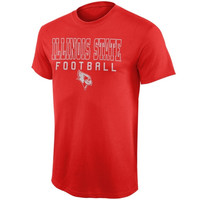 Illinois State Redbirds Frame Football T-Shirt – Red