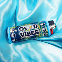 Good Vibes Yin Yang Lighter Case