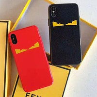FENDI Hot Sale Mobile Phone Cover Case For iphone 6 6s 6plus 6s-plus 7 7plus 8 8plus X XsMax XR