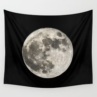 Super Moon. 14-11-2016 Wall Tapestry by Guido Montañés