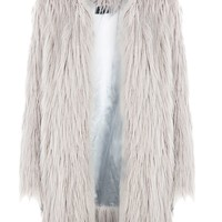 Shaggy Longline Coat by Story of Lola - New In Fashion - New In