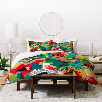 Rebecca Allen All For Flowers Duvet Cover