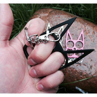 Cat Shaped Personal Self-Defense Keychain