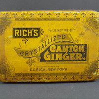 Richs Crystallized Canton Ginger Tin