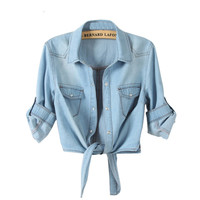 All-match Denim Shirt