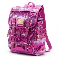 Juicy Couture Sequined Backpack (Pink)
