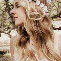 "Flower Crown - ""Shyla"" , Daisy Chain, Daisy Crown, Flower Headband,"