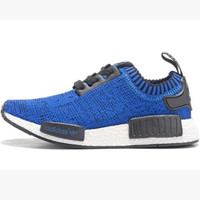 """Women """"Adidas"""" NMD Boost Casual Sports Shoes Blue black lace up"""