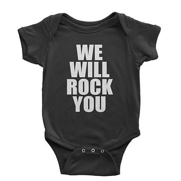 We Will Rock You Infant One-Piece Romper Bodysuit