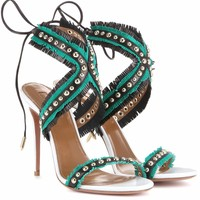 Latin Lover 105 leather sandals