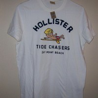 Mens  Hollister Graphic T-shirt - Large NWT