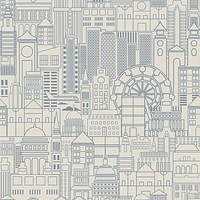 London Town Removable Wallpaper
