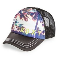 Roxy 'Dig This - Palm Trees' Trucker Hat