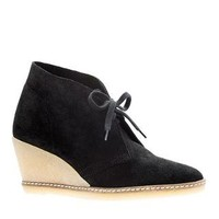 MacAlister wedge boots - size 5 - Women's sizes 5 and 12 shoes - J.Crew