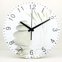 Large Zen Rock Wall Clocks