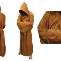 Star Wars Jedi Adult Men's Bath Robe - Star Wars - | TV Store Online